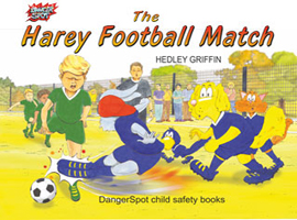 Children's book about football safety