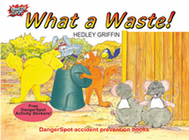 Compost and waste education and the dangers of litter and bad hygiene